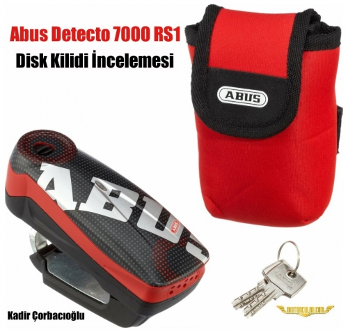 Abus Detecto 7000 RS1 Disk Kilidi İncelemesi