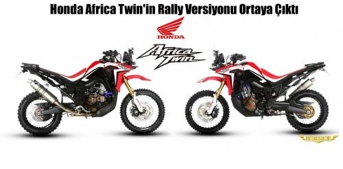 Honda Africa Twin'in Rally Versiyonu Ortaya Çıktı