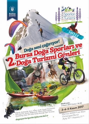 2.Bursa Doğa Sporları ve Doğa Turizmi Günleri