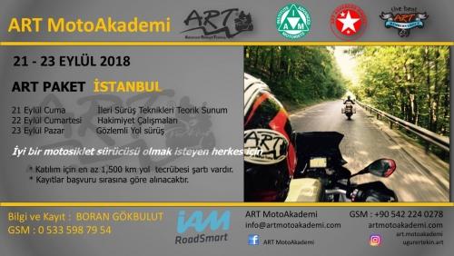 Art Paket İstanbul 21-23 Ağustos 2018