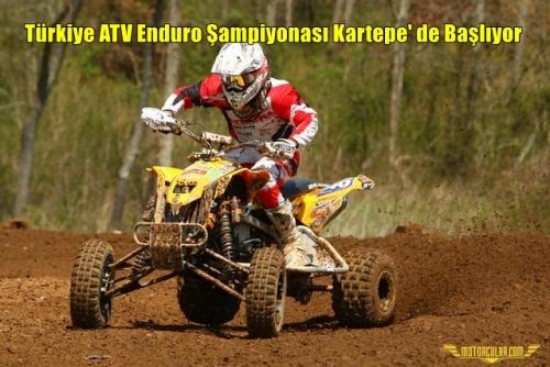 Türkiye ATV Enduro Şampiyonası Kartepe' de Başlıyor