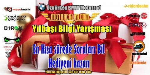 Motorcular.com Yılbaşı Bilgi Yarışması Etkinliği