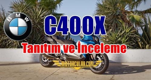 BMW C400X Tanıtım ve İncelemesi