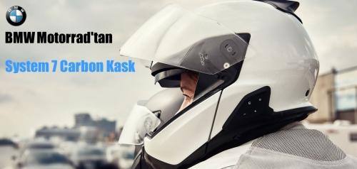 BMW Motorrad'tan System 7 Carbon Kask