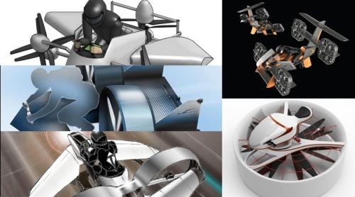 Boeing'in Uçan Motosiklet Tasarım Yarışması