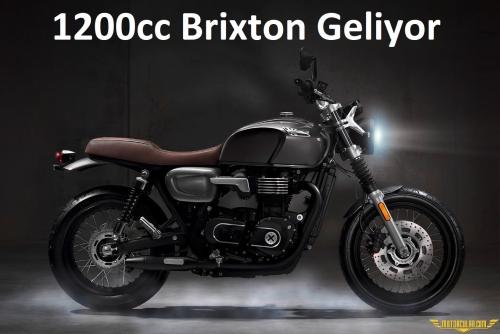 Brixton 1200cc Patentleri Ortaya Çıktı