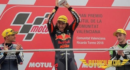 Can Öncü MotoGP3'te Tarih Yazdı