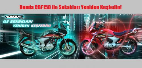 Honda CBF150 ile Sokakları Yeniden Keşfedin!