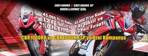 CBR1000RR ve CBR1000RR SP'ye Özel Kampanya