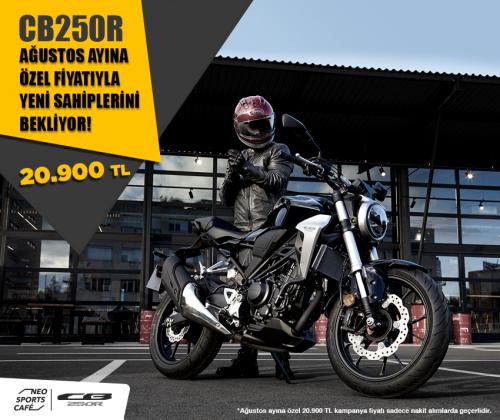 Honda CB250R Kampanyası