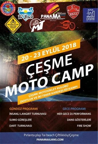 Çeşme Motosiklet Kulübü Dostluk ve Kardeşlik Kampı