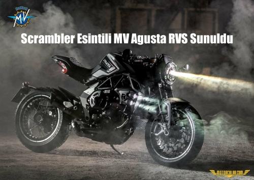 Scrambler Esintili MV Agusta RVS Sunuldu