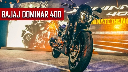 Bajaj Dominar 400 ile Güçleniyor
