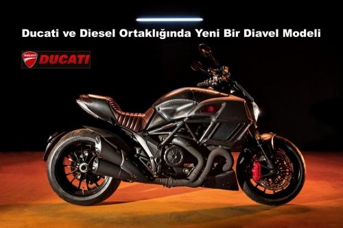 Ducati ve Diesel Ortaklığında Yeni Bir Diavel Modeli