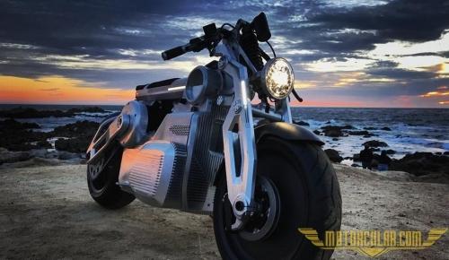 E-Twin Ünitesine Sahip Motosiklet: Zeus