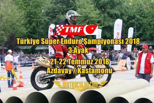 Türkiye Süper Enduro Şampiyonası 2018 3.Ayak