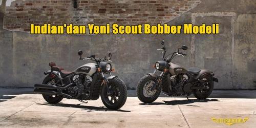 Indian'dan Yeni Scout Bobber Modeli