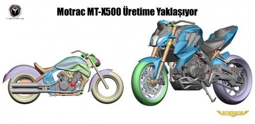 Motrac MT-X500 Üretime Yaklaşıyor
