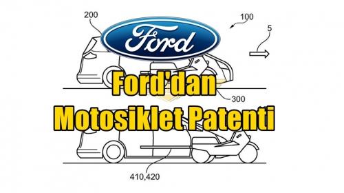 Ford'dan Motosiklet Patenti