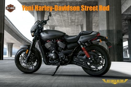 Yeni Harley-Davidson Street Rod
