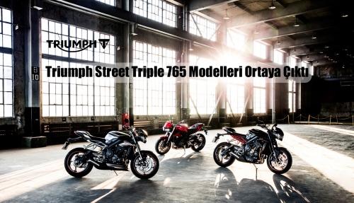 Triumph Street Triple 765 Modelleri Ortaya Çıktı