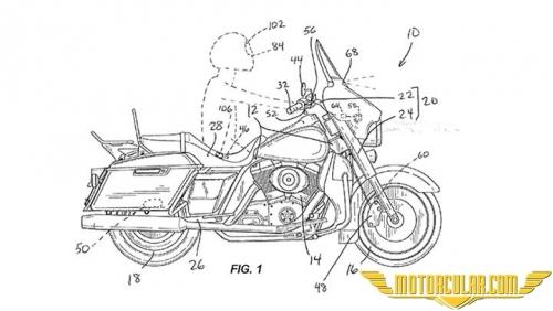 Harley Davidson'dan Yeni Fren Patenti