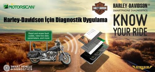 Harley-Davidson İçin Diagnostik Uygulaması Motorscan