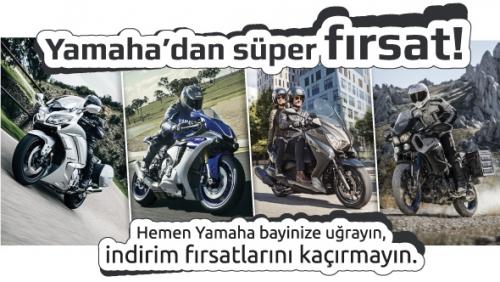 Yamaha'dan Kaçırılmayacak Firsat!