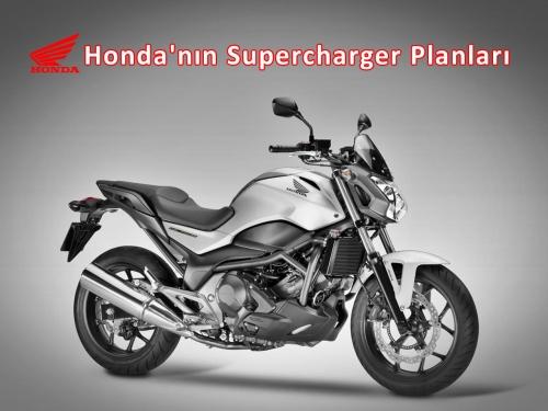 Honda'nın Supercharger Planları