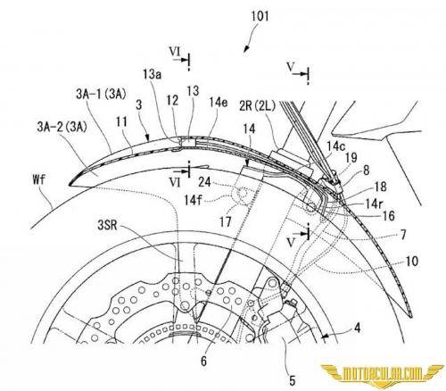 Honda'dan Radar Patenti