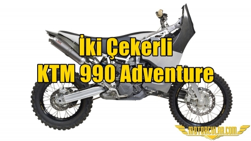 İki Çekerli KTM 990 Adventure