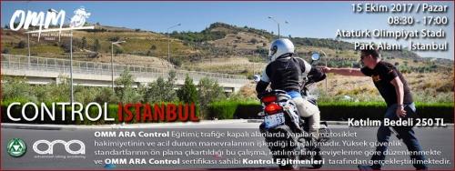 OMM - ARA Control İstanbul 15 Ekim 2017