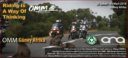 OMM ile Güney Afrika