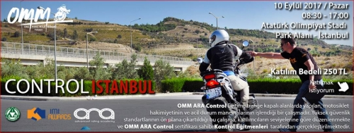 OMM - ARA Control İstanbul 10 Eylül 2017