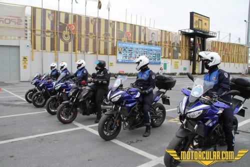 Yamaha Riding Academy Esenyurt Belediyesi Zabıta Motorize Grubu'na Eğitim Verdi