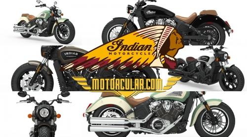 2019 Indian Scout Modelleri Çıktı