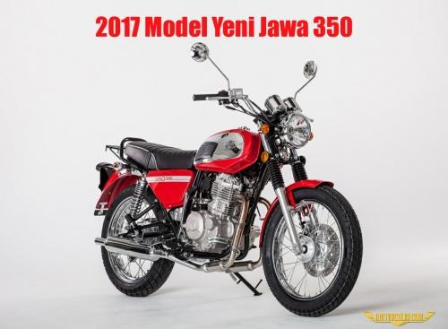 2017 Model Yeni Jawa 350