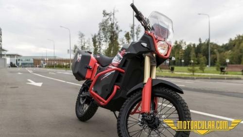 Kalaşnikof Elektrikli Motosikletlerini Tanıttı