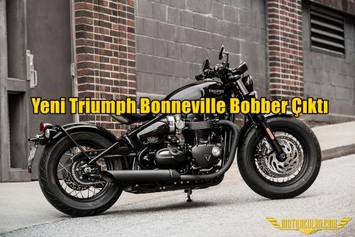 Yeni Triumph Bonneville Bobber Çıktı