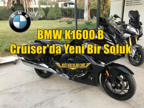 BMW K1600 B: Cruiser'da Yeni Bir Soluk