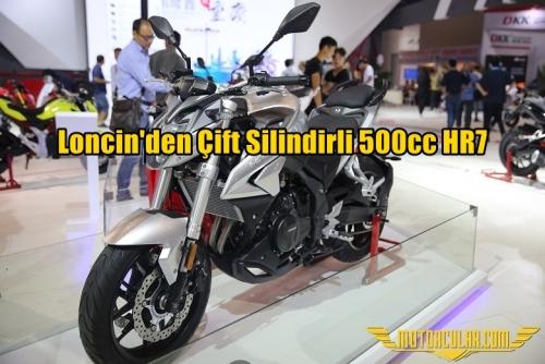 Loncin'den Çift Silindirli 500cc HR7