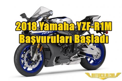2018 Yamaha YZF-R1M Başvuruları Başladı