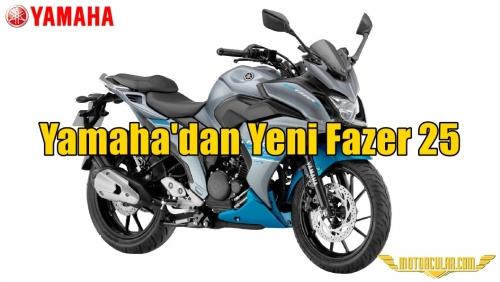 Yamaha'dan Yeni Fazer 25