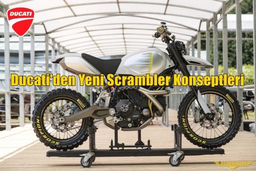 Ducati'den Yeni Scrambler Konseptleri