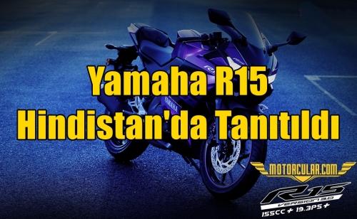 Yamaha R15 Hindistan'da Tanıtıldı