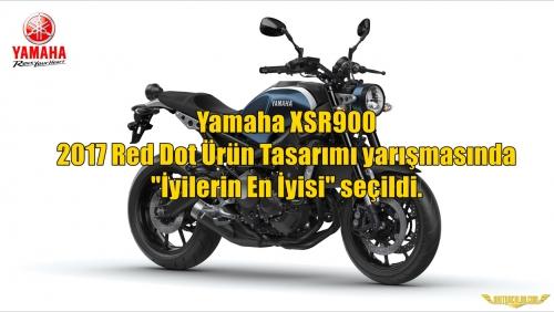 Yamaha XSR900, 2017 Red Dot Ürün Tasarımı yarışmasında 'İyilerin En İyisi' seçildi