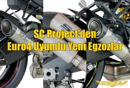 SC Project'den Euro4 Uyumlu Yeni Egzozlar