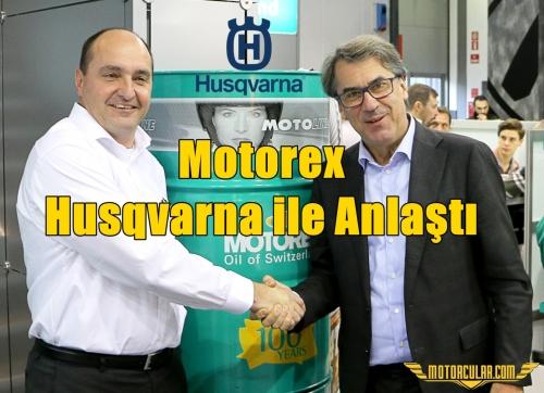 Motorex Husqvarna ile Anlaştı