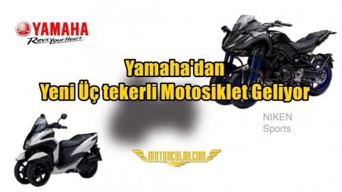 Yamaha'dan Yeni Üç tekerli Motosiklet Geliyor