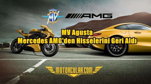 MV Agusta Mercedes AMG'den Hisselerini Geri Aldı